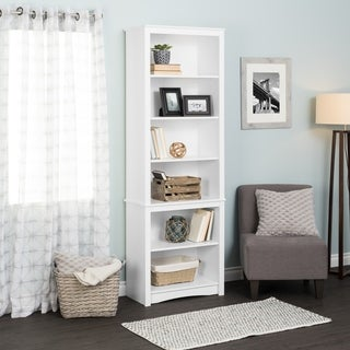 Tall Bookcase, White