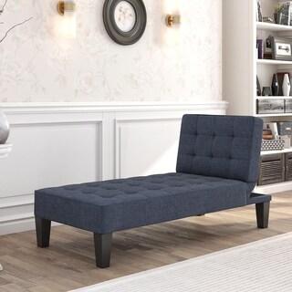Avenue Greene Julian Linen Chaise Lounger