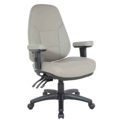 Office Star Work Smart Professional Dual Function Ergonomic High Back Chair