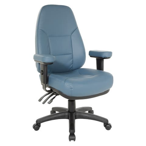 Professional Dual Function Ergonomic High-Back Office Chair