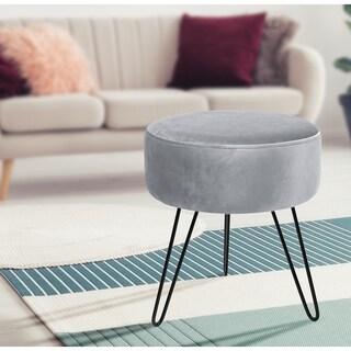 Removable Velvet Footrest