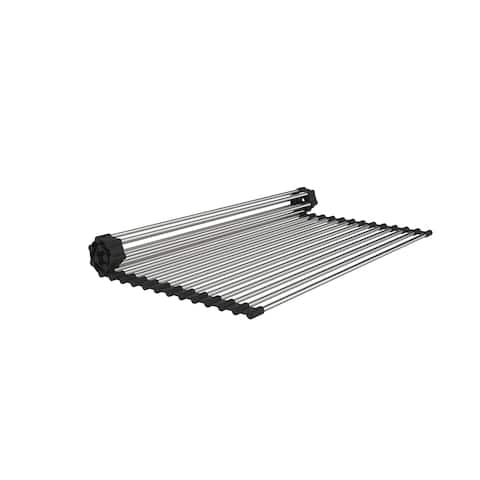 """15"""" x 18"""" Stainless Steel Roll Up Sink Grid - N/A"""