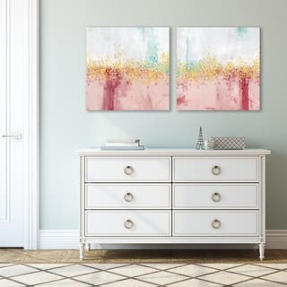 Mustn't Hurry by PI Creative Art 2 Piece Canvas Print Set