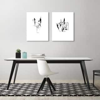 Claudia Liebenberg 2 Piece Canvas Print Set