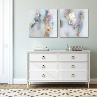 Rose by Christine Olmstead 2 Piece Canvas Print Set