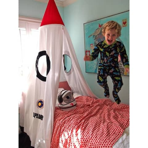 Mombasa Kid's Rocket Bed Canopy