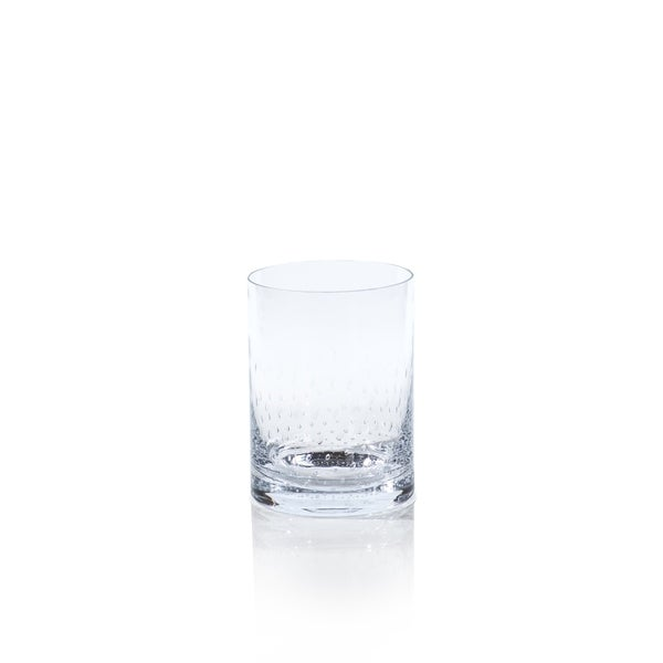 Bubble Glass Hurricane, 7.5-Inch Tall