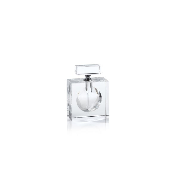 Malak Rectangular Glass Perfume Bottle