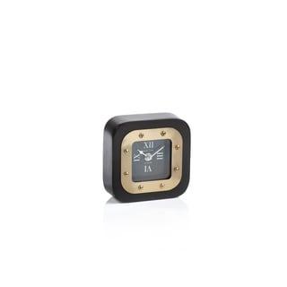 Mark Lane Black Table Clock