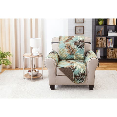 Reversible Chair Furniture Protector Palms