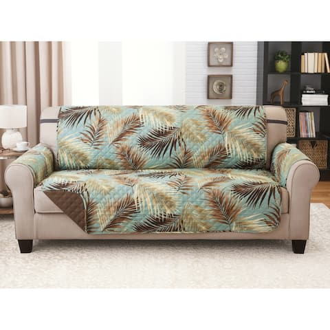 Reversible Sofa Furniture Protector Palms