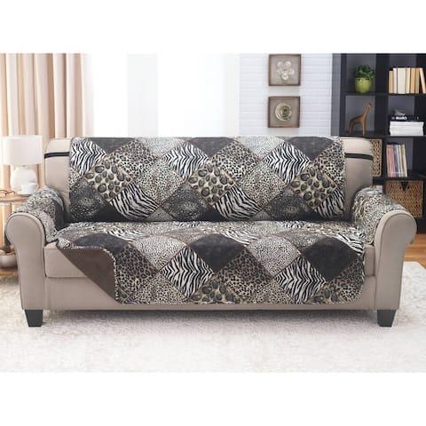 Reversible Sofa Furniture Protector Safari