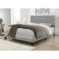 Umi Upholstered Panel Bed