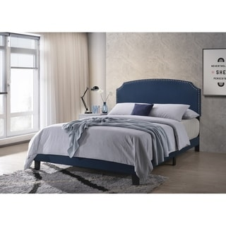 Copper Grove Alfortville Upholstered Panel Bed