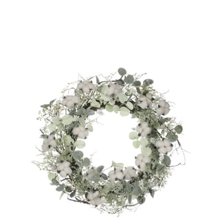 Link to Cotton & Eucalyptus Wreath Similar Items in Decorative Accessories