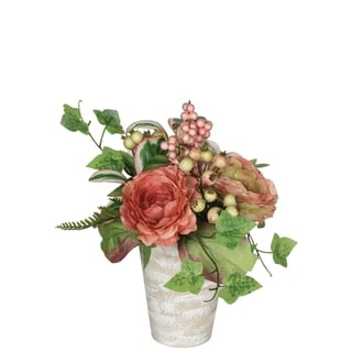 Peony, Ranunculus & Berry Premade