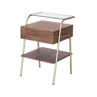 Link to Blanc 1-Drawer End Table Similar Items in Living Room Furniture