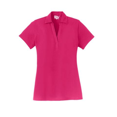 One Country United Ladies Silk Touch Y-Neck Polo