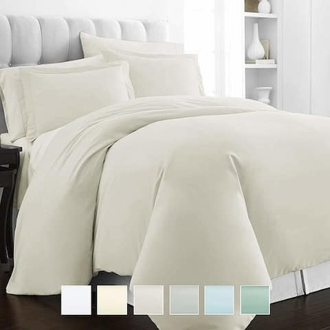 Pizuna 400 Thread Count Cotton Duvet Cover Set