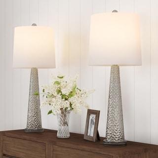Carson Carrington Kulan Contemporaryu Energy-Efficient Table Lamps (Set of 2)