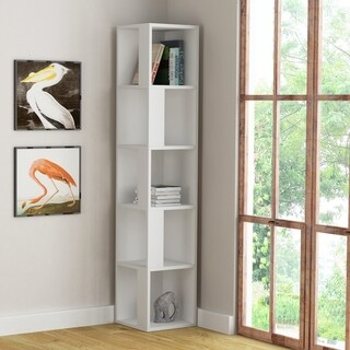 Porch & Den Hail Wood Finish Bookcase