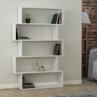Link to Porch & Den Celilo Melamine-coated Modern Bookcase Similar Items in Bookshelves & Bookcases