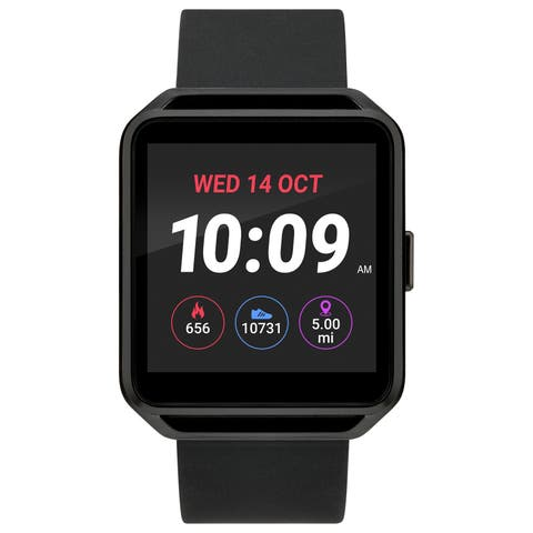 iConnect by Timex TW5M31200 Black Square Touchscreen Watch