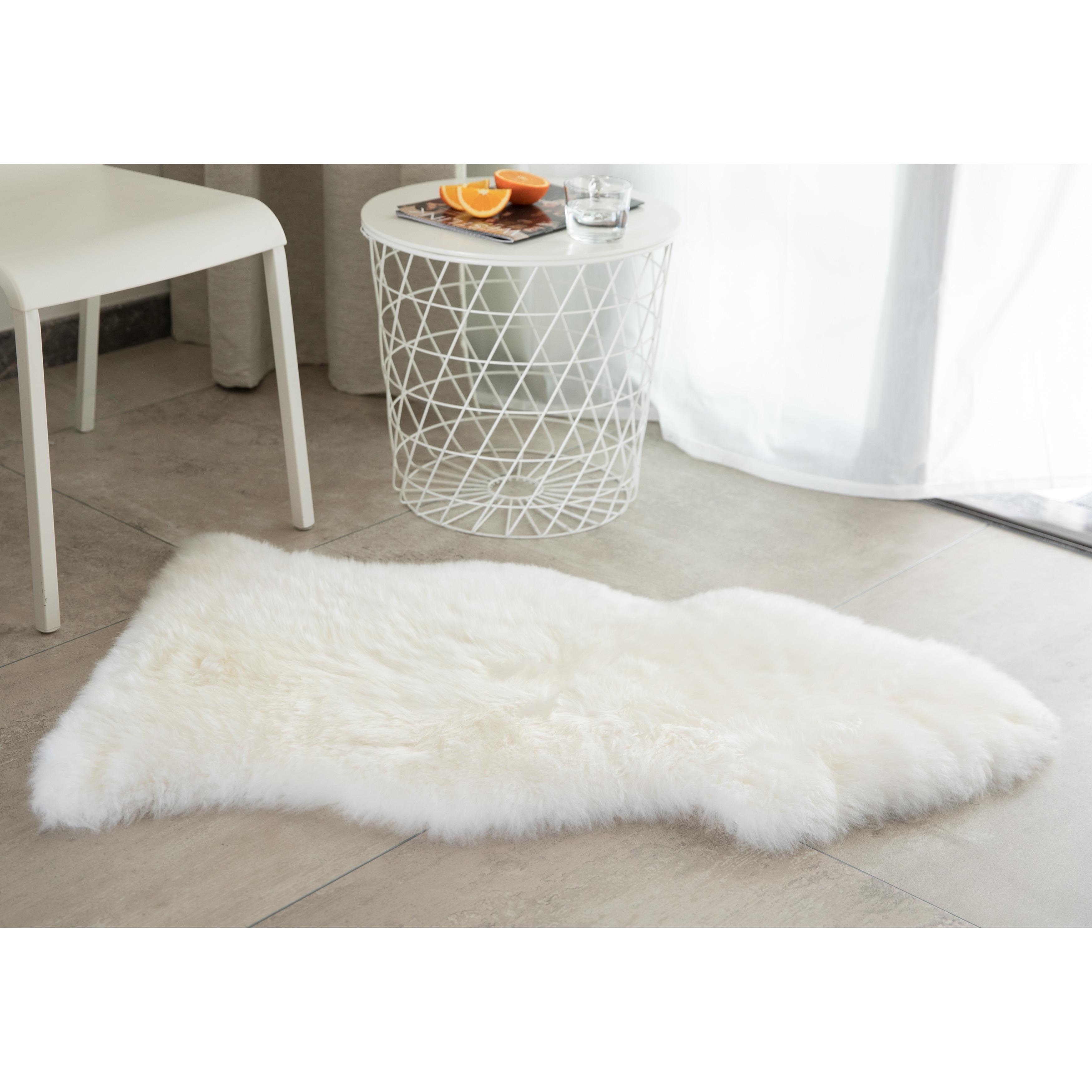 Sheepskin Rug Natural Single Pelt