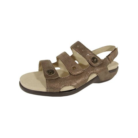 Aravon Womens Power Comfort Three Strap Sandals