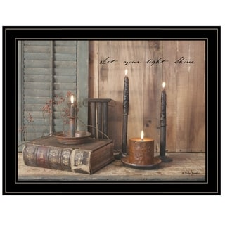 """Link to """"Let Your Light Shine"""" by Billy Jacobs, Ready to Hang Framed Print, Black Frame Similar Items in Art Prints"""