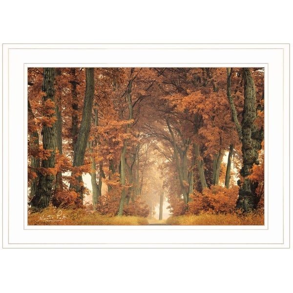 """Follow Your Own Way"" by Martin Podt, Ready to Hang Framed Print, White Frame"