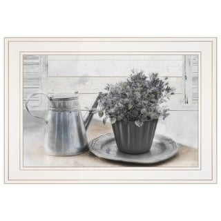 """""""Light and Airy"""" by Robin-Lee Vieira, Ready to Hang Framed Print, White Frame"""