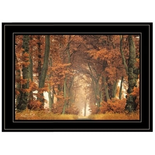"""Follow Your Own Way"" by Martin Podt, Ready to Hang Framed Print, Black Frame"