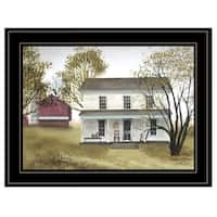 """""""Summer Afternoon"""" by Billy Jacobs, Ready to Hang Framed Print, Black Frame"""