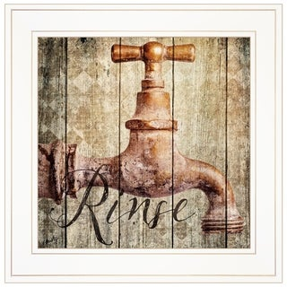 """""""Rinse"""" by Misty Michelle, Ready to Hang Framed Print, White Frame"""