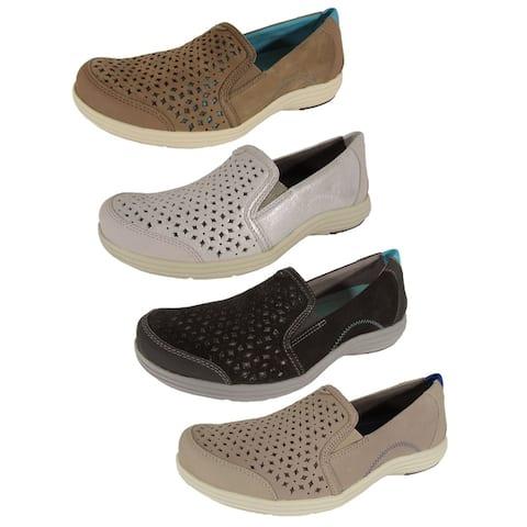 Aravon Womens Bonnie-AR Slip On Loafers