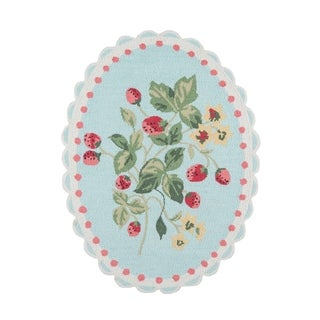 Madcap Cottage by Momeni Get Smart Cherie Berry Area Rug - 3' x 4'