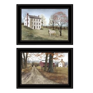"""The Road Home"" 2-Piece Vignette by Billy Jacobs, Black Frame"