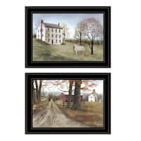 """""""The Road Home"""" 2-Piece Vignette by Billy Jacobs, Black Frame"""