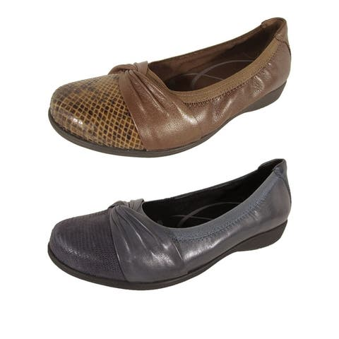 Aravon Womens Andrea-AR Slip On Shoes