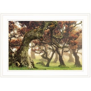 """Fanal"" by Martin Podt, Ready to Hang Framed Print, White Frame"