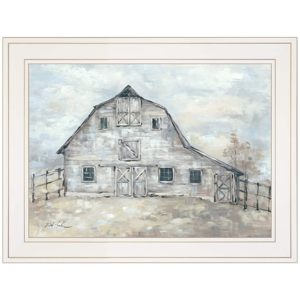 """Rustic Beauty"" by Debi Coules, Ready to Hang Framed Print, White Frame"