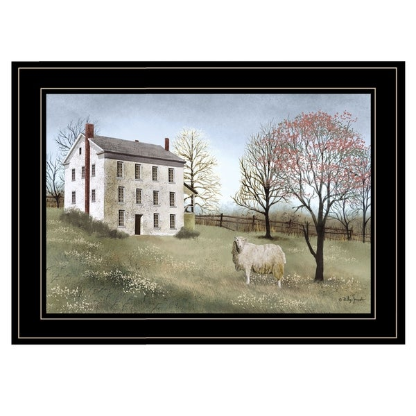 """""""Spring at White House Farm"""" by Billy Jacobs, Ready to Hang Framed Print, Black Frame"""