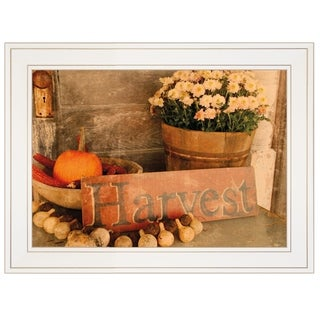 """Autumn Harvest"" by Anthony Smith, Ready to Hang Framed Print, White Frame"