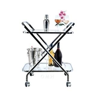 Anne Home - X-Shape Bar Cart