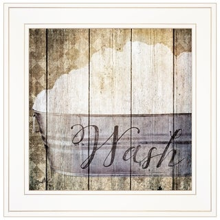 """""""Wash"""" by Misty Michelle, Ready to Hang Framed Print, White Frame"""