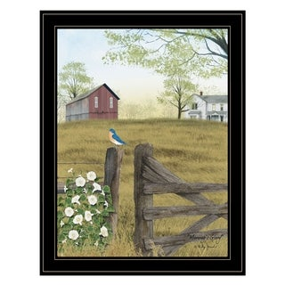 """""""Morning's Glory"""" by Billy Jacobs, Ready to Hang Framed Print, Black Frame"""