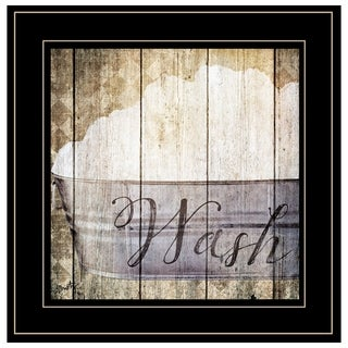 """""""Wash"""" by Misty Michelle, Ready to Hang Framed Print, Black Frame"""