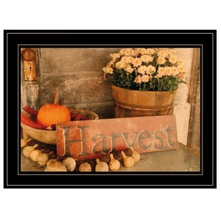 """Autumn Harvest"" by Anthony Smith, Ready to Hang Framed Print, Black Frame"