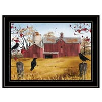 """""""Autumn Gold"""" by Billy Jacobs, Ready to Hang Framed Print, Black Frame"""